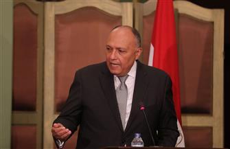 سامح شكري يشارك في الاجتماع التشاوري لوزراء الخارجية العرب بالدوحة