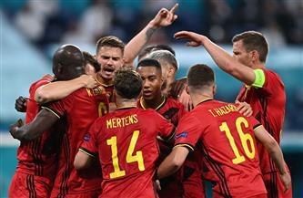 بلجيكا تتقدم بهدفين على روسيا بالشوط الأول فى يورو 2020
