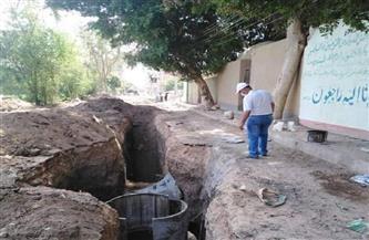 أبو الخير يتابع أعمال المشروعات والنظافة بمجلس قروي مشطا | صور