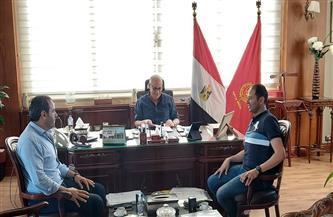 محافظ بورسعيد يلتقي عضوي مجلس النواب لبحث التعاون والتواصل