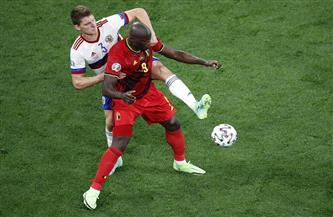 لوكاكو يسجل الهدف الثانى له والثالث لبلجيكا فى روسيا