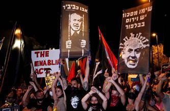 متظاهرون ضد نتنياهو يعلنون انتصارهم عشية تصويت الكنيست على الحكومة الجديدة