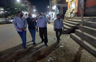 رئيس مركز ومدينة الباجور يتابع تنفيذ الإجراءات الاحترازية بشوارع المدينة   صور