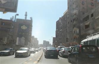كثافات مرورية متوسطة بشوارع العاصمة