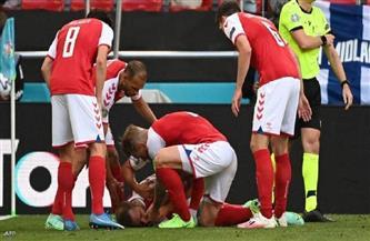 تأجيل تدريب المنتخب الدنماركي بعد واقعة إريكسن