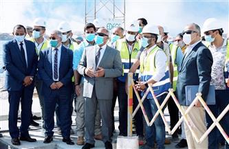 وزير النقل يتابع معدلات تنفيذ المشروعات الخدمية الجاري تنفيذها بميناء الإسكندرية |صور