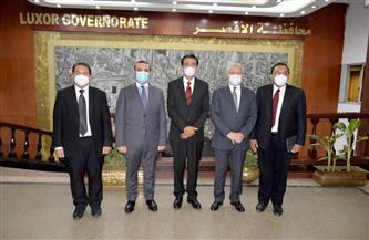 خلال لقائه بالسفير.. محافظ الأقصر يؤكد عمق العلاقات المصرية الإندونيسية | صور