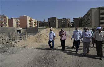 محافظ أسيوط يتفقد أعمال إنشاء مدرسة 30 يونيو بحي غرب.. ويزور مدرسة الجهاد | صور