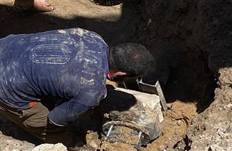 محافظ الإسكندرية يكلف بالتعامل الفوري مع كسر ماسورة مياه وهبوط أرضي بميدان محطة الخديوي | صور