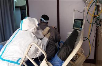 تفعيل بروتوكول العلاج الطبيعي لعلاج حالات مرضى كورونا داخل العنايات المركزة  صور