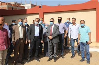 محافظ المنوفية يفتتح مدرسة شهداء 30 يونيو بدنشواي بتكلفة 8 ملايين جنيه| صور
