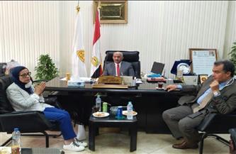 جامعة الزقازيق تستقبل وفد الهيئة القومية لضمان جودة التعليم والاعتماد