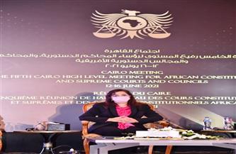 وزيرة التخطيط تستعرض جهود مصر للتعافي الأخضر أمام المجالس الدستورية الإفريقية