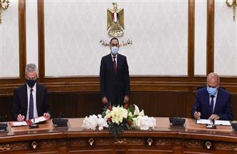 النقل: التوقيع على خارطة طريق مشتركة بين مصر وفرنسا لمشروعات مترو أنفاق القاهرة الكبرى |صور