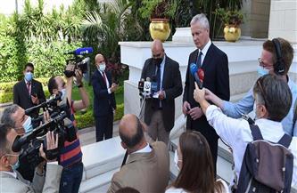 """""""لومير"""": توجيهات من الرئيس """"ماكرون"""" بتعزيز الشراكة الإستراتيجية مع مصر"""