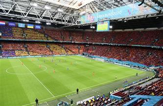 انطلاق الشوط الثاني من لقاء هولندا وأوكرانيا في «يورو 2020»