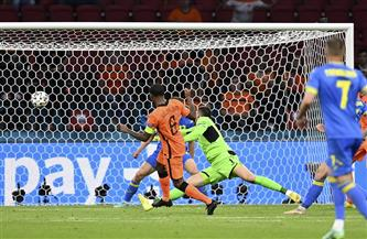 «فينالدوم» يفتتح التسجيل لهولندا بالهدف الأول في شباك أوكرانيا بـ «يورو 2020»