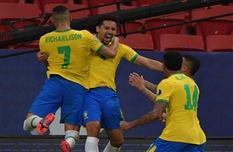 البرازيل تتقدم على فنزويلا بهدف «ماركينيوس» فى الشوط الأول بـ «كوبا أمريكا»