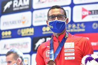 أحمد الجندي: برونزية فردي الرجال ببطولة العالم للخماسي لها مذاق خاص أمام الجمهور المصري