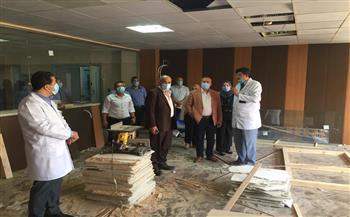 مكي يتفقد الأقسام الجديدة بمستشفى المنصورة الدولي تمهيدًا لافتتاحها | صور