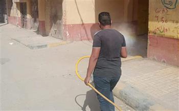 تطهير وتعقيم 6 مساجد بالعامرية غرب الإسكندرية | صور