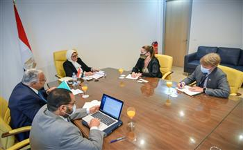 المدير التنفيذي لبرنامج الأمم المتحدة للإيدز تؤكد دعمها التجربة المصرية في مكافحة فيروس نقص المناعة البشري