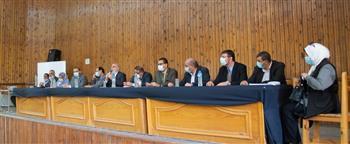 المؤتمر المشترك الأول بين «الزراعة» و«الري» يوصي بحصر الزمامات وأطوال المساقي بالقليوبية تمهيدًا لتأهيلها