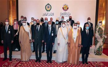 الاجتماع التشاوري لوزراء الخارجية العرب بالعاصمة القطرية الدوحة | صور