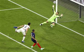 فرنسا تتقدم بالهدف الأول في شباك ألمانيا بالنيران الصديقة بـ «يورو 2020»
