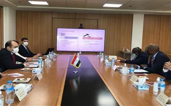 """""""حماية المنافسة"""" يستقبل سكرتير عام اتفاقية التجارة الحرة بالقارية الإفريقية"""