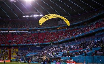 القبض على محتج كاد يفسد مباراة ألمانيا وفرنسا في «يورو 2020»
