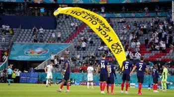 يويفا: مظلة مباراة فرنسا وألمانيا أصابت العديد من الأشخاص