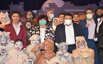 وزيرة الثقافة: ورشة «ابدأ حلمك» تعيد أمجاد المسرح المصري | صور