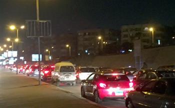 أوناش المرور تنجح فى رفع آثار حادث دائري المعادي