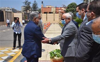 محافظ بورسعيد يستقبل لجنة الإدارة المحلية بمجلس النواب |صور