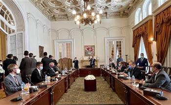 بدء جلسة مباحثات ثنائية بين مصر ولوكسمبورج |صور