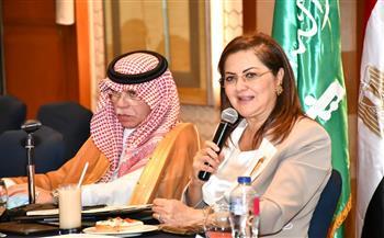 وزيرة التخطيط تبحث مع وزير التجارة السعودي تعزيز العلاقات الاقتصادية المشتركة