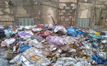 رفع المخلفات من شوارع 4 قطاعات بحي المنتزه بالإسكندرية |صور