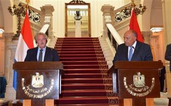 وزير الخارجية: مصر وقطر حريصتان على استئناف العلاقات