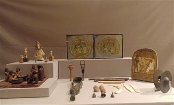 صباح عبد الرازق: الطبول والدفوف من أقدم الأدوات الموسيقية التي عُرفت في مصر القديمة |صور