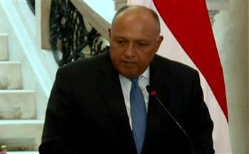 وزير الخارجية: هناك تفهم أوروبى لقضية سد النهضة