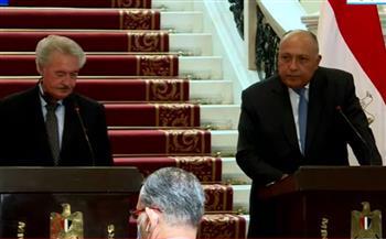 """وزير خارجية لوكسمبورج يثمن دور مصر في وقف إطلاق النار بـ""""غزة"""""""