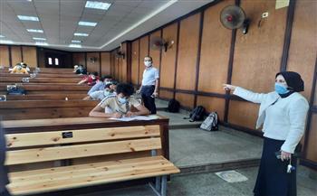 انطلاق امتحانات نهاية العام بـ«حاسبات ومعلومات طنطا» وسط إجراءات احترازية | صور