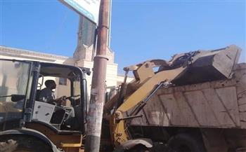 حملات نظافة مكثفة بقرى مركز شبين الكوم بالمنوفية |صور