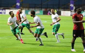 المصري يخطف فوزًا ثمينًا من سيراميكا.. ويصعد لوصافة الدوري