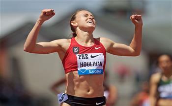 مشاركة العداءة الأمريكية هوليهان في تجارب ما قبل الأوليمبياد رغم إيقافها أربعة أعوام