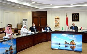 وزير الإسكان يلتقي رئيس مجلس الأعمال السعودي المصري لبحث فرص التعاون المشترك|صور