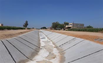 """متحدث """"الري"""": نعمل على تطوير 8200 كم بمشروع تبطين الترع"""
