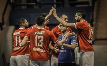رجال طائرة الأهلي يفوز على الاتحاد ويتأهل لنهائي كأس مصر