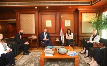 وزيرة التعاون الدولي تبحث مع مساعد الأمين العام للأمم المتحدة مجالات التعاون المشترك
